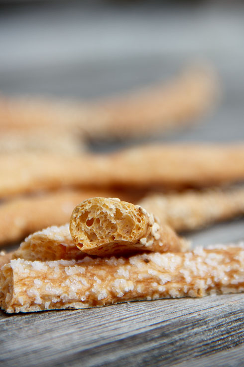 Schneller gegessen als gebacken: Grissini