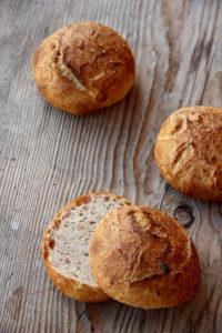 Ein Traum zum Frühstück: Butter-Salz-Brötchen