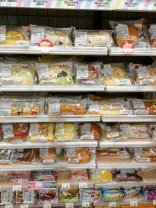 Industriebrot in Hülle und Fülle in jedem Supermarkt. Dieses Brot wird am meisten konsumiert.