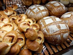 Auslage einer weiteren Bäckerei