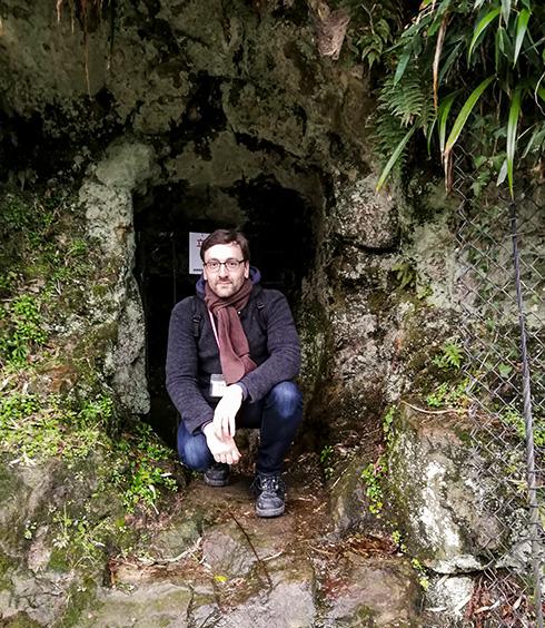 Und etwas Geologie und Bergbau durfte auch nicht fehlen, schließlich liegt Herr Hidakas Backstube mitten im UNESCO-Weltkulturerbe der Iwami-Silberbergwerke, die sehr viel Ähnlichkeit mit dem erzgebirgischen Altbergbau haben.