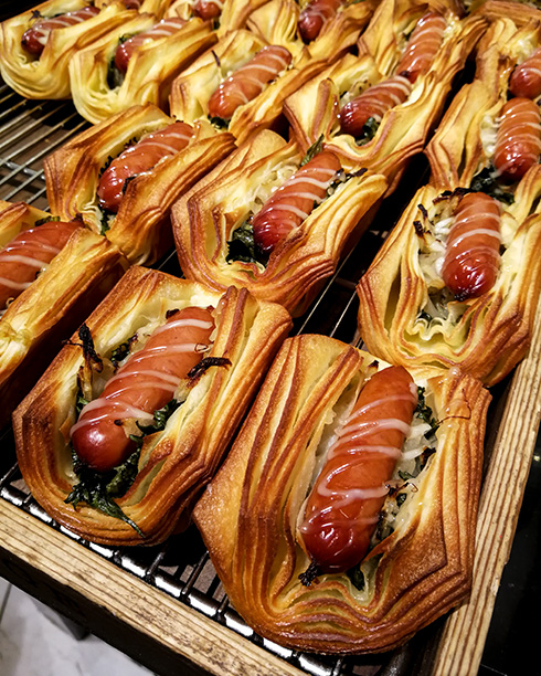 Typisch japanisch: eine Mahlzeit verpackt in einem handlichen Snack